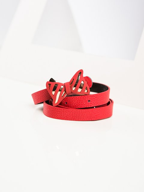 Ремень красный Gepur 3920033