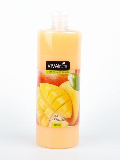 Крем-піна для ванн «Манго» (1000 мл) VIVAfruts 3919505