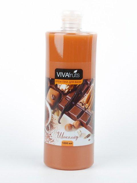 Крем-пена для ванн «Шоколад» (1000 мл) VIVAfruts 3919506