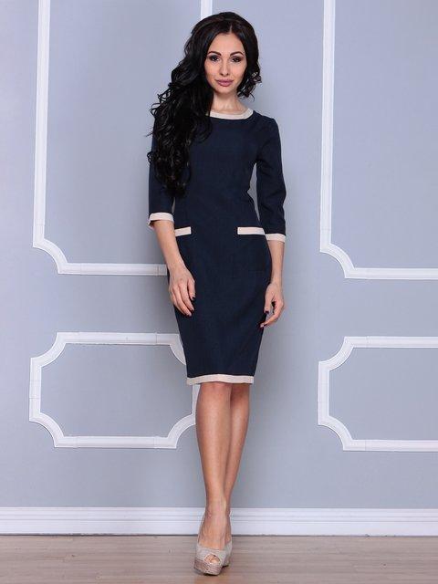 Платье темно-синее Laura Bettini 3926390