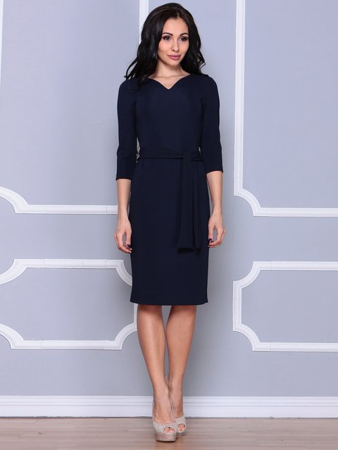 Платье темно-синее Laura Bettini 3926410