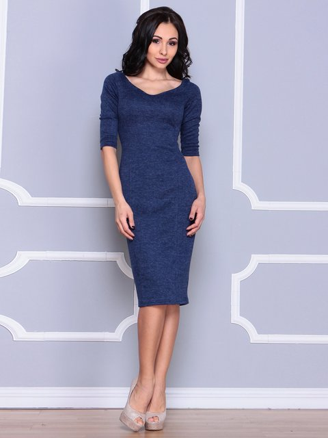 Платье синее Laura Bettini 3926431