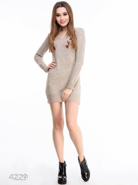 Платье коричневое Magnet 3777946