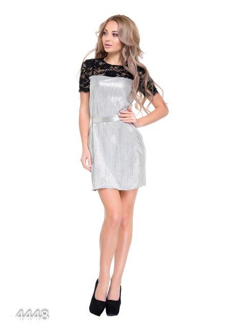 Платье серое Magnet 3931706