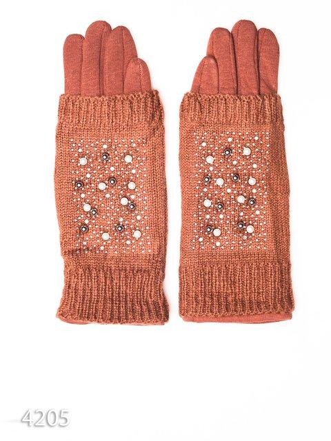 Перчатки коричневые Magnet 3931718