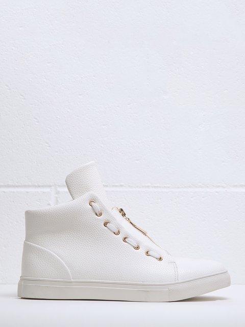 Ботинки белые Duca di Morrone 3837605