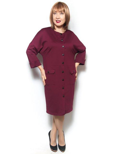 Платье бордовое LibeAmore 3936459