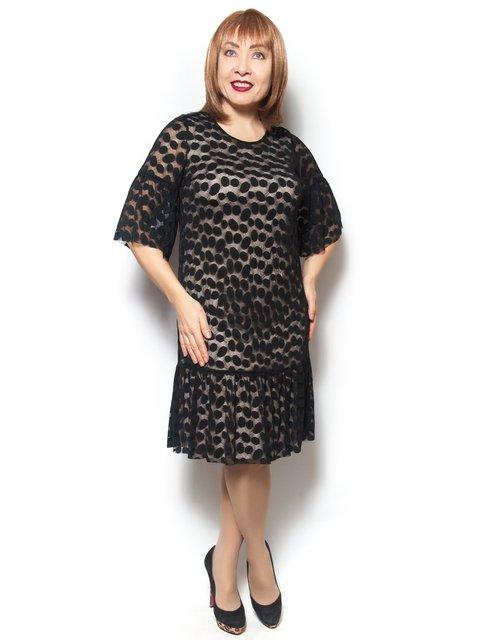 Платье черное LibeAmore 3936473