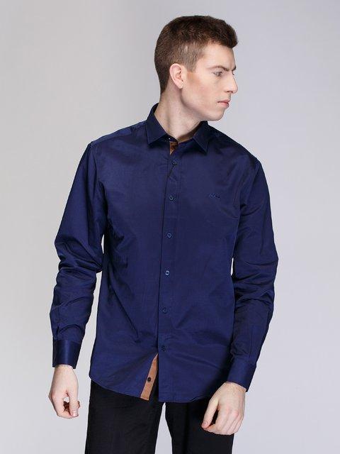 Рубашка синяя HUGO BOSS 3930818