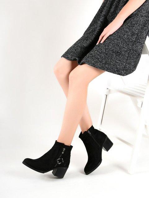 Ботинки черные SAPIN 3773013