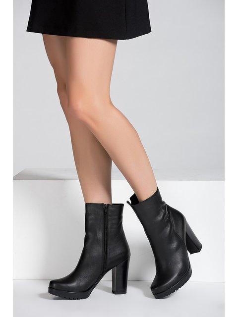 Ботильоны черные Fox Shoes 3937679