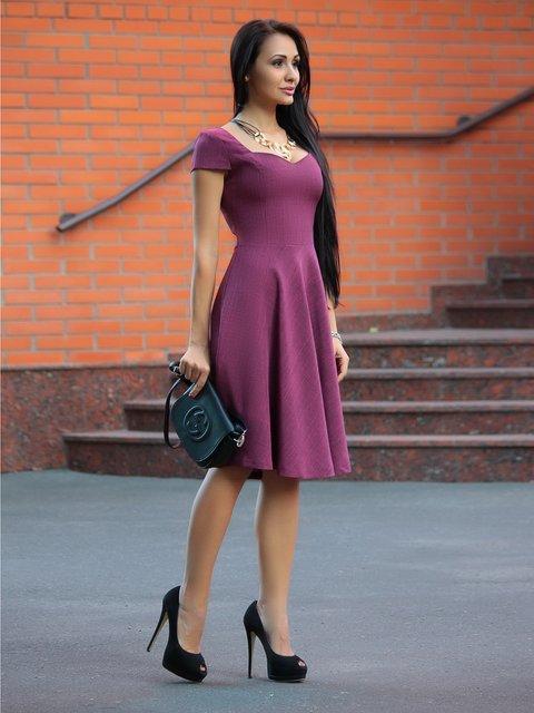 Сукня сливова Dioni 3938545