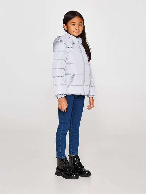Куртка сіра Oviesse 3785587