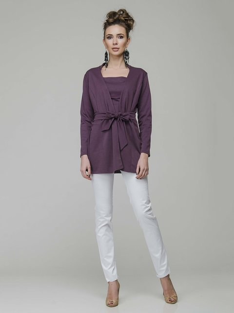 Комплект: кардиган и блуза AERIN 3940430