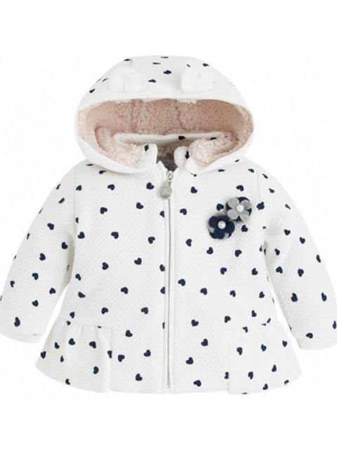 Куртка біла Mayoral 3835695