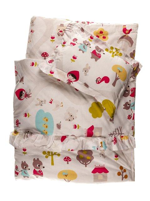Набор в детскую кроватку: одеяло и подушка Мишутка 3936154