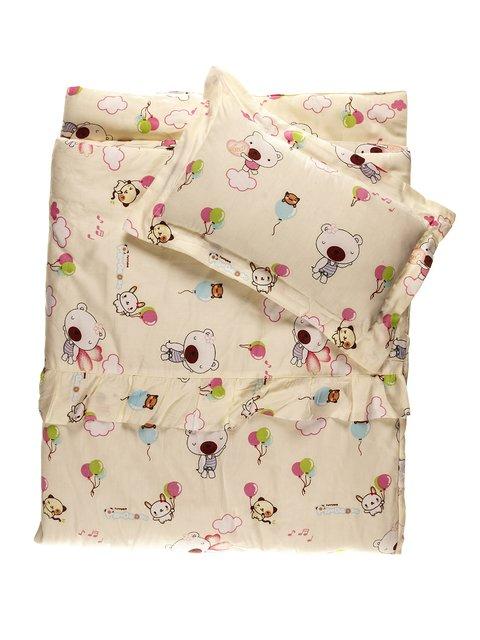 Набор в детскую кроватку: одеяло и подушка Мишутка 3936153