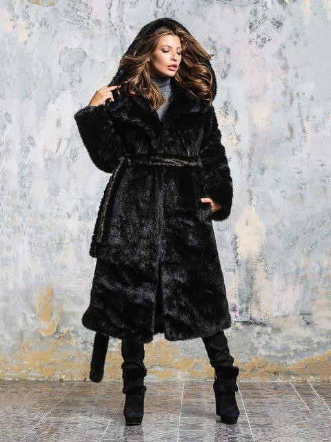 Шуба черная Grand Furs 3946463