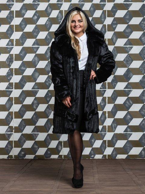 Шуба черная Grand Furs 3946470