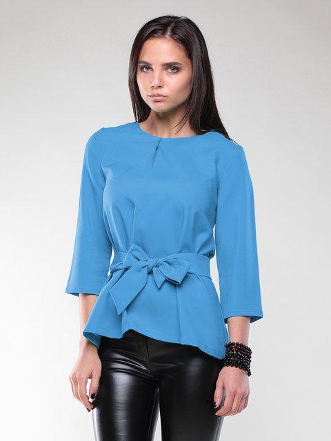 Блуза бірюзова Rebecca Tatti 2170378
