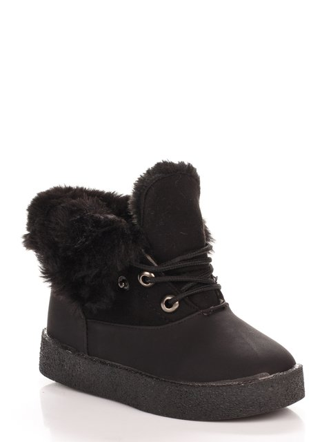 Ботинки черные Шалунишка 3902925