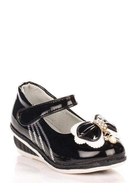 Туфли черные Шалунишка 3902748