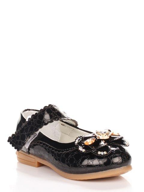 Туфли черные Шалунишка 3902751