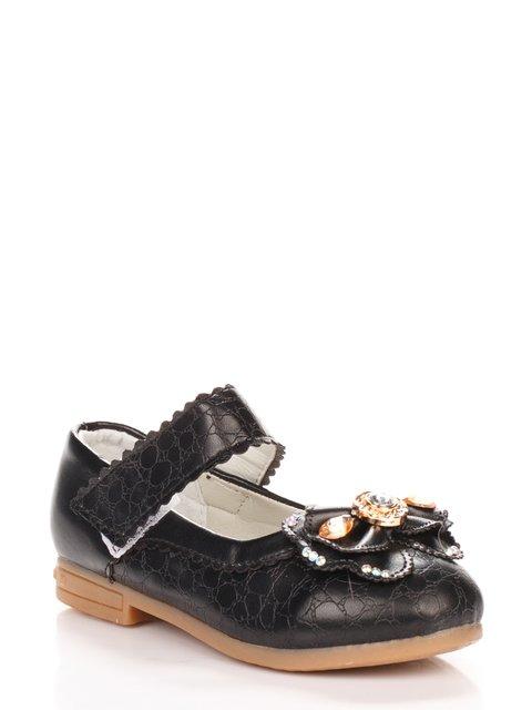 Туфли черные Шалунишка 3902753