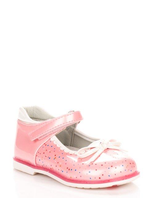 Туфли розовые в крапинку Шалунишка 3919462