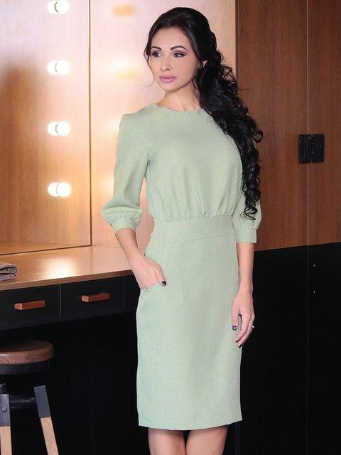 Сукня оливкова Rebecca Tatti 3950530