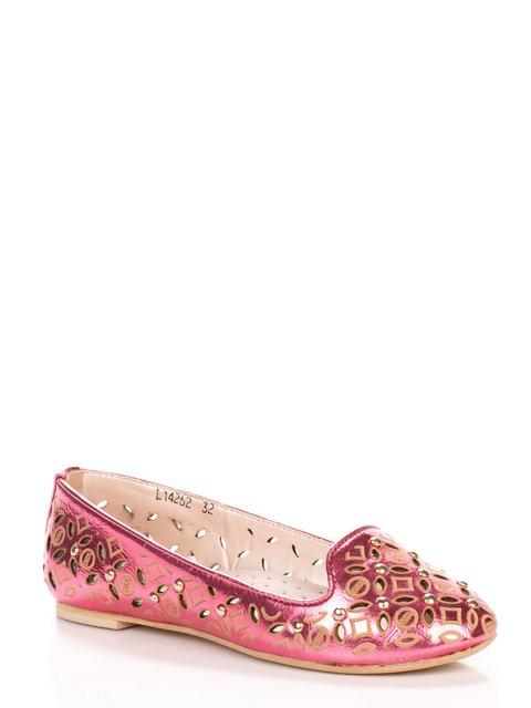 Балетки розовые Шалунишка 3902681