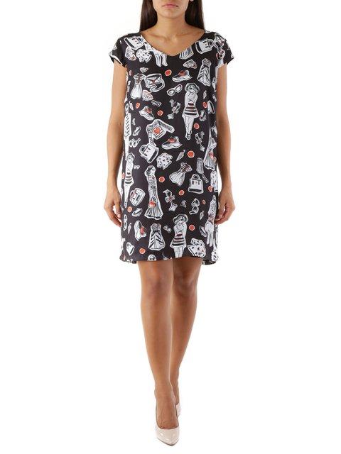 Сукня в принт Cristina Gavioli 3957337