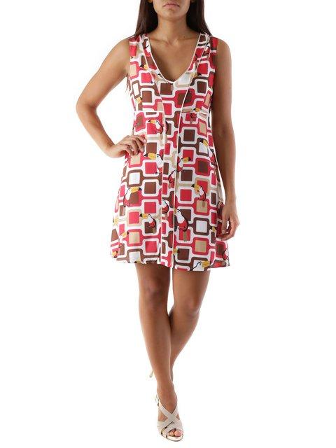 Платье в принт Cristina Gavioli 3957761