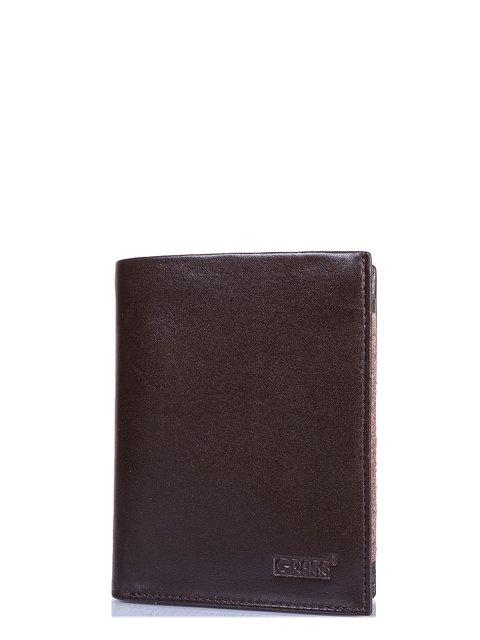 Портмоне коричневое Grass 3958432