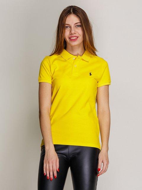 Футболка-поло желтая Polo Ralph Lauren 2973787