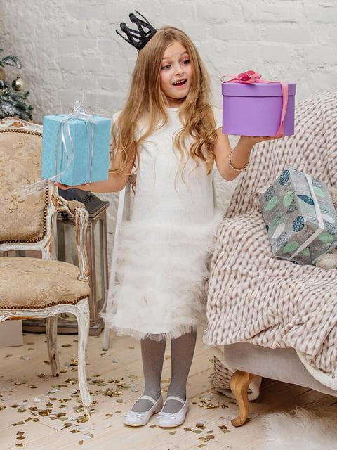 Сукня молочного кольору Gusseva KIDS 3958937