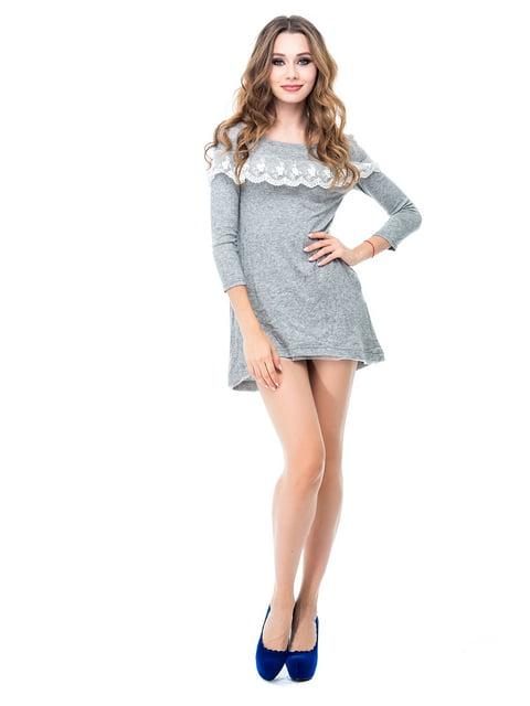 Платье серое Magnet 3958243