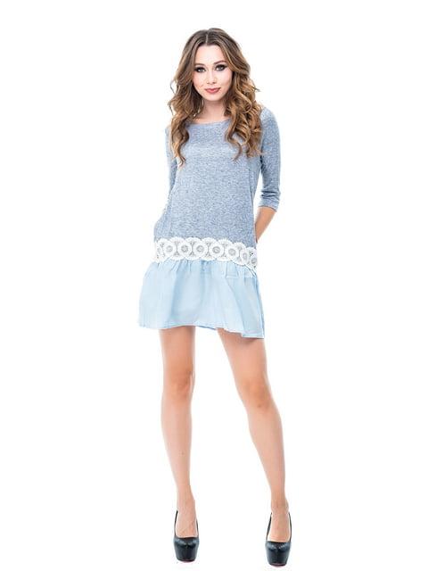 Платье голубое Magnet 3958294
