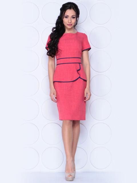 Сукня кольору червоний корал Laura Bettini 3959290