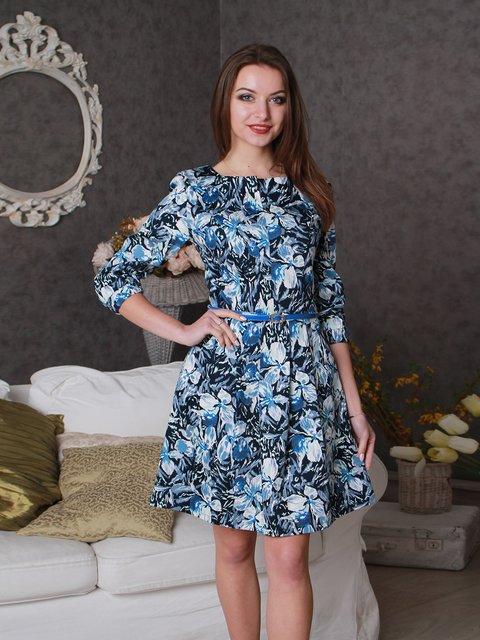 Платье в цветочный принт VSV 3963719