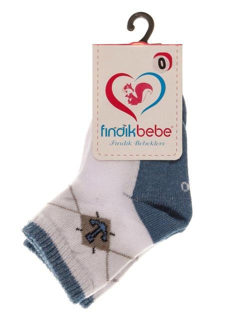 Шкарпетки блакитні Findik bebe 3877587