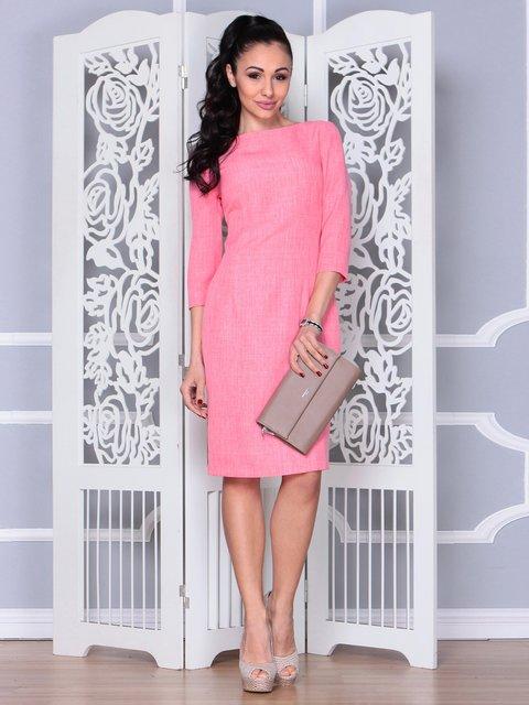 Сукня коралова Laura Bettini 3973363