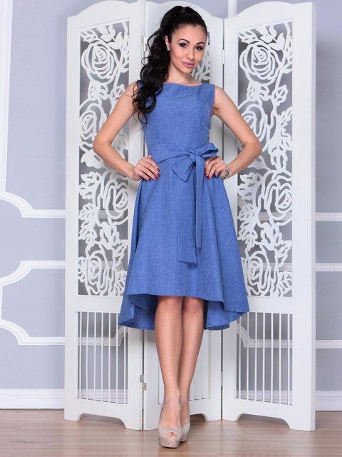 Платье синее Maurini 3973378