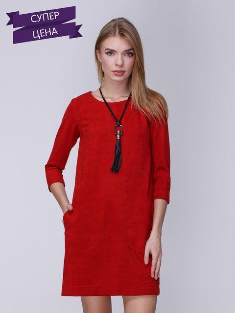 Платье красное Jet 3810175