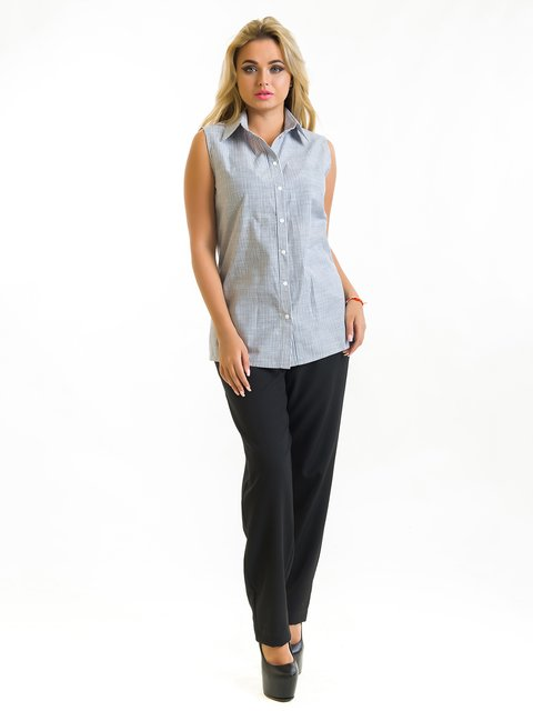 Рубашка серая First Land Fashion 3973839