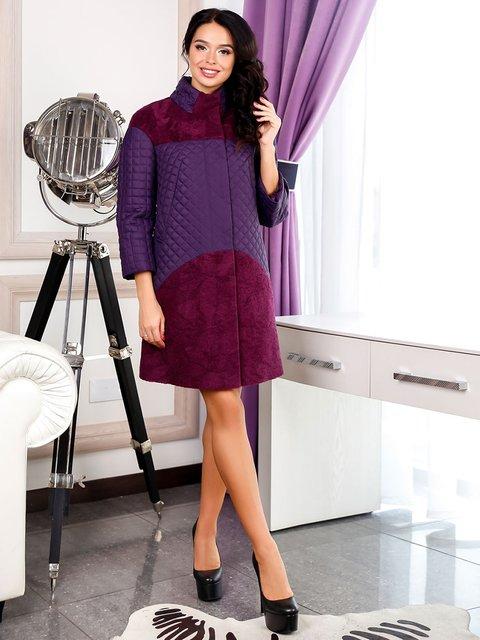 Пальто фиолетовое Favoritti 3974715