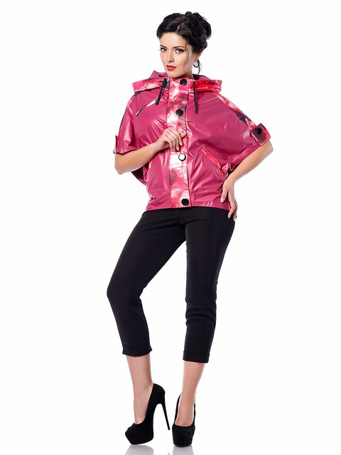 Ветровка ярко-розовая Favoritti 3974754