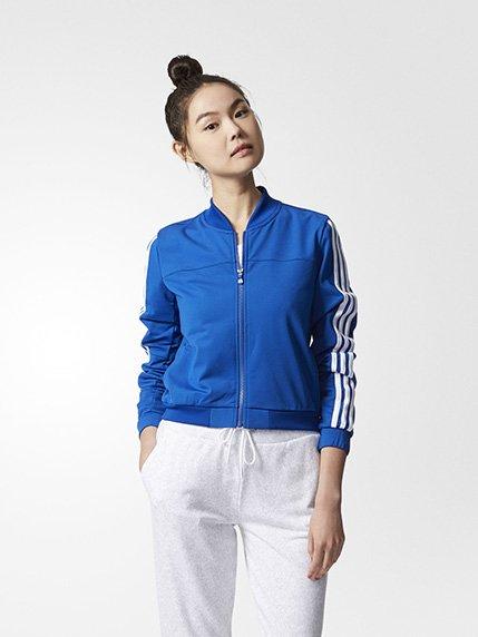 Кофта синяя Adidas 3974004