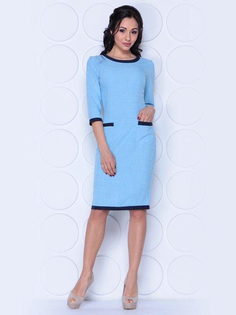Сукня блакитна Laura Bettini 3983834