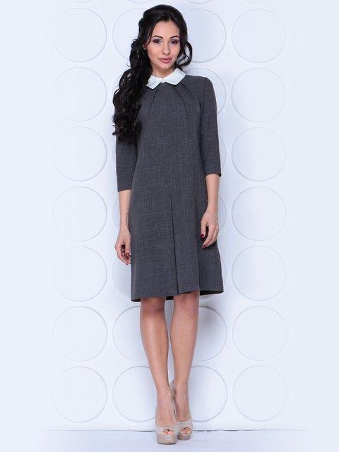Платье графитового цвета Laura Bettini 3983837
